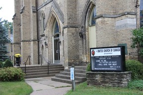 Strathroy's United Church, located at 131 Front St. W.
