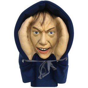 A Home Depot Halloween window decoration was way too scary for a Toronto-area woman. The Scary Peeper Creeper was so frightening she got the home improvement chain to pull it from store shelves. (Home Depot)