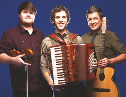 Celtic and folk trio Barrule is preparing to perform at Festival Place on Friday, Sept. 30 as part of the group's first-ever Canadian tour. Photo Supplied