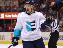 Team Europe player Christian Ehrhoff. GETTY IMAGES