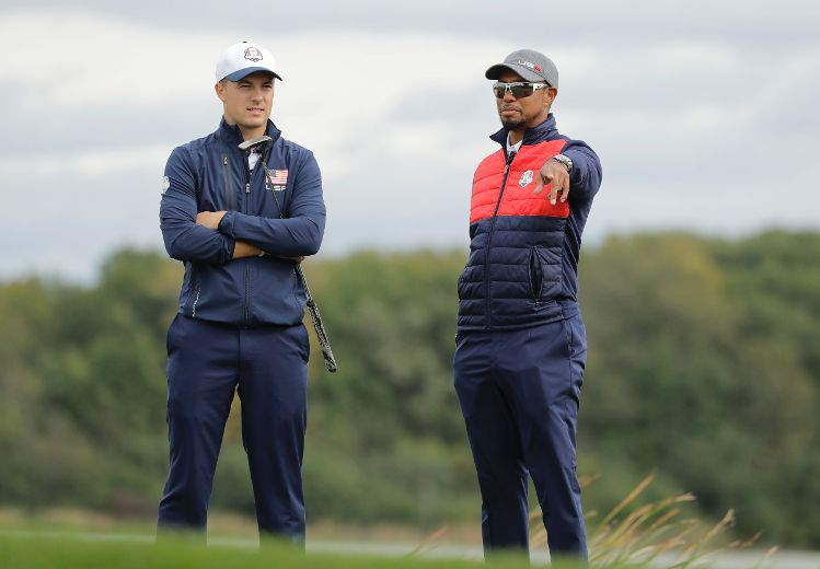 tigers woods trying keep profile ryder