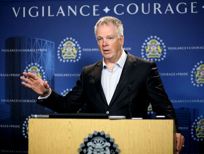 Calgary Police Chief Roger Chaffin