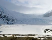 The Athabasca Glacier flowing out of the Columbia Icefields. Gavin Young/ Postmedia Archives