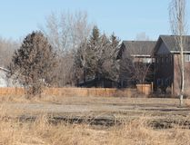 KEVIN RUSHWORTH HIGH RIVER TIMES/POSTMEDIA NETWORK. At the time this picture was taken, three buildings remained in Wallaceville. Today, the final holdout in the former neighbourhood is now in an expropriation process with the government of Alberta.