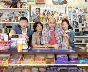 The cast of Kim's Convenience. (Handout photo)