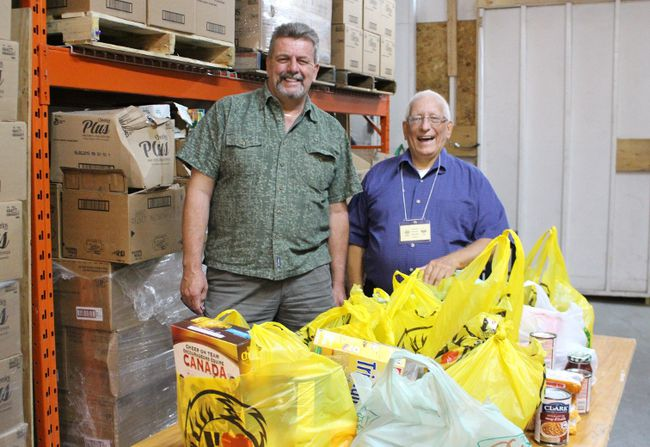 how to get food from food bank cochrane