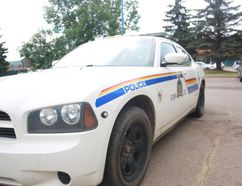 A Wood Buffalo RCMP car in Fort McMurray Alta. June 2015. Andrew Bates/Fort McMurray Today/Postmedia Network