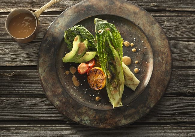 Grilled romaine salad. (Handout photo)