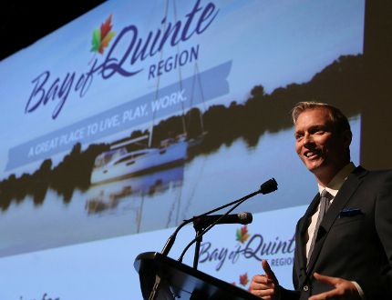 Intelligencer file photo Ryan Williams, QuinteVation chairman, announced Tuesday the region has been designated as an official Startup Canada Community.