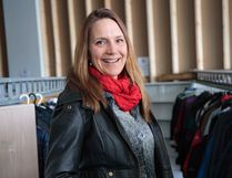 Marina Carl says Coats for Kids is gearing up for the busiest year to date. (Dayla Lahring/ Hinton Parklander)