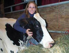 Erin Miller at The Royal Agricultural Winter Fair. The Royal will take place this year Nov. 4-13 in Toronto. HANDOUT
