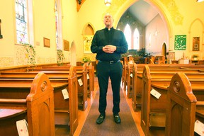 Shaun Eaton from St. Mary's has been named the new minister of the St. Thomas Anglican Church in Seaforth. (Shaun Gregory/Huron Expositor)