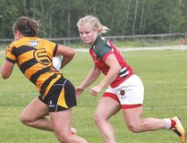 The Druids Premier Division women lost in this year's provincial title, while the Div. 2 ladies fell in the Edmonton Rugby Union final. Photo by Shane Jones/Sherwood Park News/Postmedia Network
