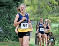 Jenny Bottomley led the Laurentian University Voyageurs cross-country running team Sunday with a ninth-place finish at the University of Toronto Open in Etobicoke's Centennial Park. Special to The Star