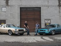 Like father, like son: Bonding over building 1,200-hp worth of muscle cars