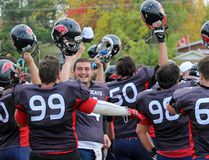Hats off to the Panthers, 5-0 on the season. Kevin Gould/Cornwall Standard-Freeholder
