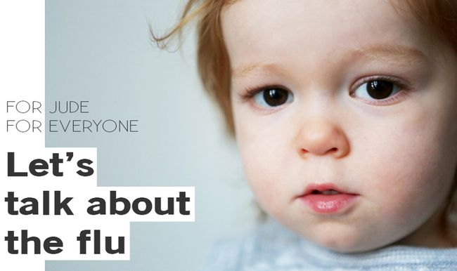 "Jude McGee, 2, died of influenza B last May and his family – including his mom, Port Elgin native Jill Promoli McGee – launched a public vaccination campaign called ""For Jude, For Everyone"" Oct. 18 to urge public vaccinations."