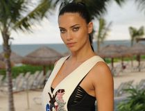 Adriana Lima talks to Postmedia Network on October 18, 2016 from the launch of Breathless Riviera Cancun Resort & Spa in Mexico. (Photo courtesy: World Red Eye)