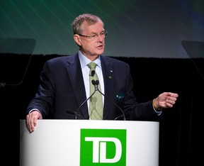 Ed Clark, former TD Bank CEO. (THE CANADIAN PRESS/Larry MacDougal)