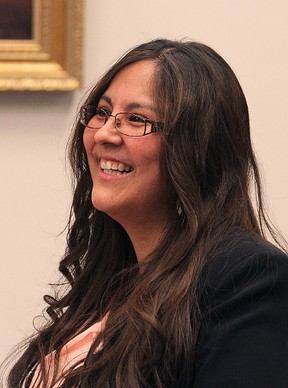Judy Klassen, who surprised many on election night with her upset win in the northern riding of Kewatinook, will run for the Liberal leadership.