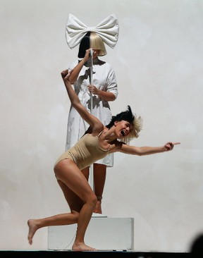 Sia performed at the Air Canada Centre on Saturday night. (DAVE ABEL, Toronto Sun)