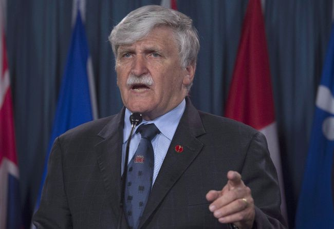 Former Lt.-Gen. Romeo Dallaire will discuss his new book Wednesday night at the Holiday Inn Kingston Waterfront. (Adrian Wyle/Canadian Press)