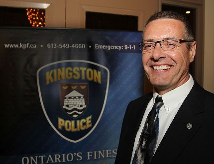 Kingston Police Chief Gilles Larochelle. (Whig-Standard file photo)