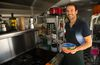 Ivan Santana-Barnes has opened an organic food truck in London, featuring organic and Mexican servings. (MIKE HENSEN, The London Free Press)