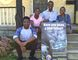 The Ssemugenyi family, Keith, 15, left, Keisha, 13, Allan and Maggie, operate the Child Life Network International in London. (DEREK RUTTAN, The London Free Press)