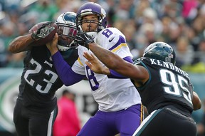 The Eagles win against the Vikings was crucial for bookies. (Getty Images)