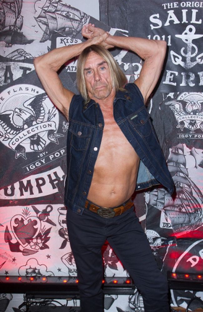Iggy Pop reflects on being one of music's last men standing.