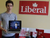 As the newly elected president of the Young Liberals Riding Association in Timmins-James Bay, 16-year-old Nicholas Harterre is excited to help engage local youth in the political process. The group was founded officially on Sunday night at its inaugural meeting, and more members in the community are being encouraged to join, as well.