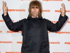 """Liam Gallagher attends the screening of """"Supersonic"""" held at the Vue in London on October 2, 2016. (WENN.COM)"""