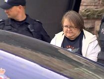 Elizabeth Tracey Mae Wettlaufer, of Woodstock, Ontario, is shown in this still image taken from video provided by Citynews Toronto in Woodstock on Tuesday Oct. 25, 2016. The Canadian Press has learned that the investigation into the alleged murders of eight long-term care home residents was launched after police received a tip from a psychiatric hospital in Toronto. (THE CANADIAN PRESS/HO-Citynews)
