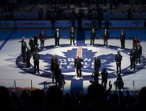 Leafs centre ice