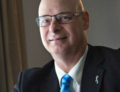 Brantford city councillor Greg Martin has been undergoing treatment since April of this year after being diagnosed with prostate cancer. Brian Thompson/Brantford Expositor/Postmedia Network