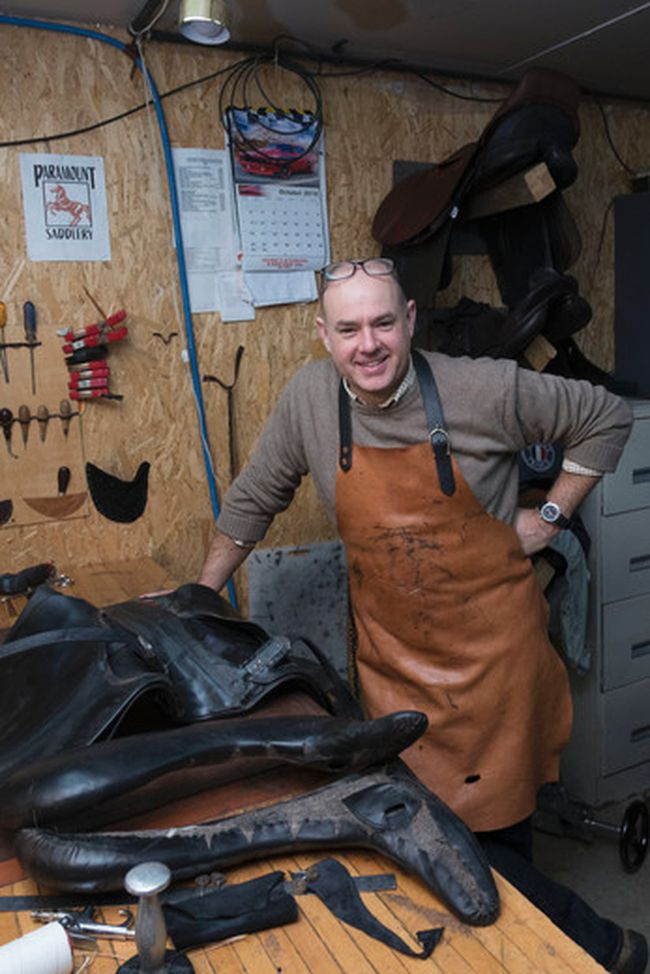 Christian Lowe of Paramount Saddlery will exhibit at the Royal Agricultural Winter Fair in Toronto Nov. 4 to 13, one of several Sault and Algoma District agri-food and equestrian business operators. Ali Pearson/Sault This Week