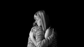 A screenshot from a video on family violence produced by Hilltop student Rachel Wise.