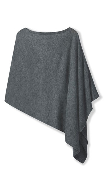 The PonchoWorn three ways - belted, as a scarf, or as a classic poncho - the soft cashmere blend will keep you cozy. $69.90