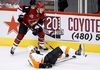 Coyotes defenceman and 2016 first round draft pick Jakob Chychrun is making an impact in Arizona. (Ross D. Franklin/AP Photo/Files)
