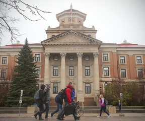 The University of Manitoba is believed to be where the outbreak originated, but it's spread to other schools and seemingly unconnected cases since then. (FILE PHOTO)