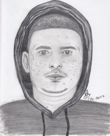 Winnipeg police released sketches of two suspects wanted in a May 1, 2016 robbery of a Portage Avenue pharmacy on Nov. 4, 2016. (WINNIPEG POLICE SERVICE SKETCH)