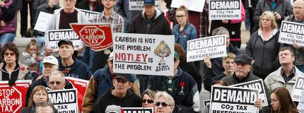 Carbon tax rally