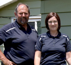 Prouse Electric & Mechanical Ltd presented a free air conditioner to Randy Vince of Tillsonburg in 2015, and this year's Random Act of Kindness winner is Lena Lannoo, who will receive a new Lennox 95% efficient furnace. (FILE PHOTO)
