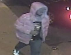 Toronto Police released this image of a man believed of being the shooter in an incident on Mercer St. early Saturday, Nov. 6, 2016.