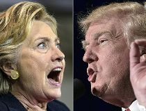 Hillary Clinton and Donald Trump - Getty