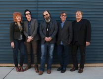 Steve Earle, centre, and the Dukes headline the Light of Day Foundation fundraising concert Wednesday night at the Ale House. (Ted Barron)
