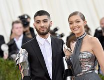Zayn Malik and Gigi Hadid attend the 'Manus x Machina: Fashion In An Age Of Technology' Costume Institute Gala at Metropolitan Museum of Art. (Mike Coppola/Getty Images)