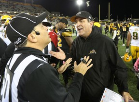 kent Austin says he's not concerned if the Tiger-Cats are considered underdogs going into the Eastern Semifinal. (The Canadian Press)
