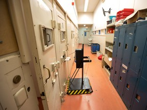 Segregation unit is pictured in this undated file photo as officials conducted a media tour of the Ottawa Carleton Detention Centre. (Wayne Cuddington/Postmedia Network)